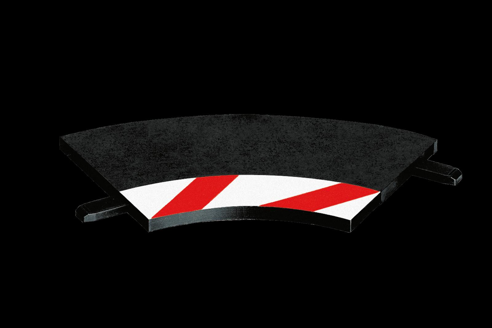 Innenrandstreifen für Kurve 1/60° (3), Endstücke (2 ...