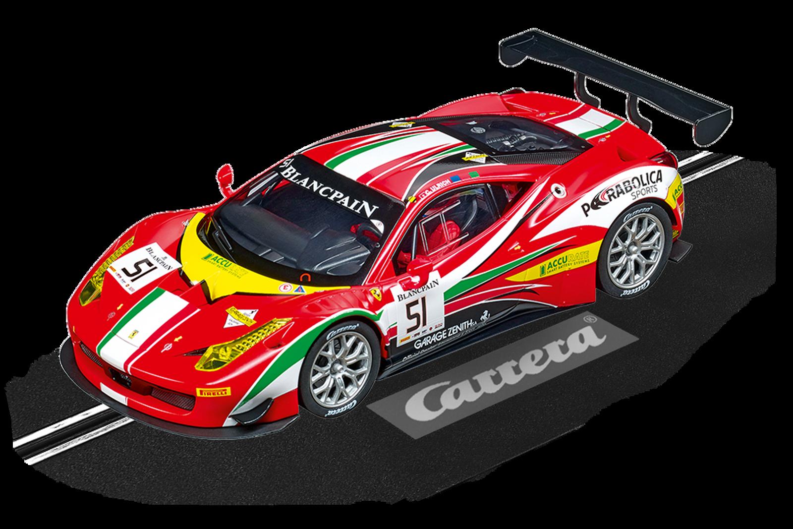 Ferrari 458 Italia Gt3 Af Corse No 51 20023879 Carrera Slotcar Rc