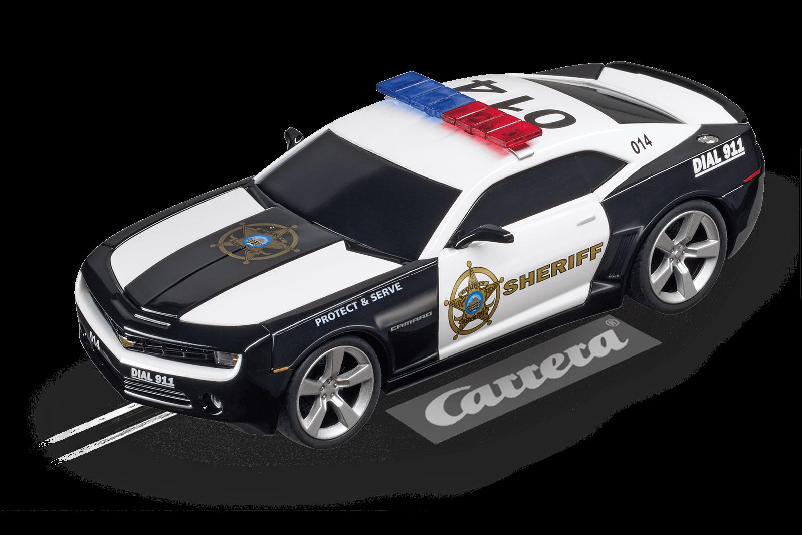chevrolet camaro sheriff 20027523 carrera rennbahnen rc. Black Bedroom Furniture Sets. Home Design Ideas