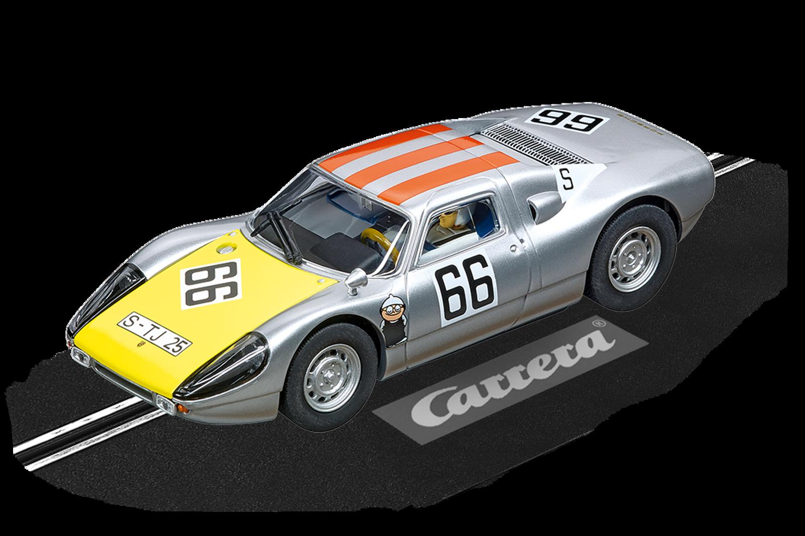 Porsche 904 Carrera Gts No 66 20027613 Carrera Slotcar Rc