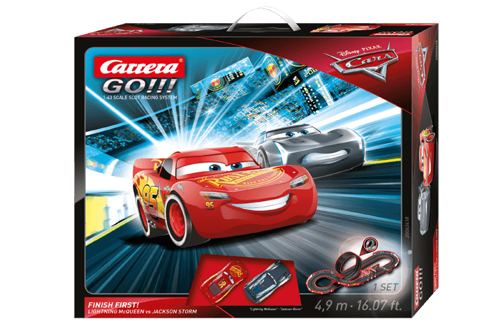 Disney Pixar Cars 3 Finish First 20062418 Carrera Slotcar Rc