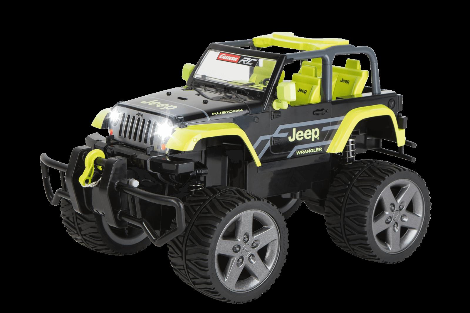 Jeepr Wrangler Rubicon Green 370162104 Carrera Slotcar Rc Jeep Film